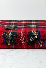 "Tweedmill Textiles Traditional Highland Tartan Wool Throw - Royal Stewart - 60"" x 72"""