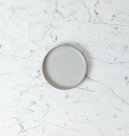 "Hasami Porcelain Plate - Extra Small - Gloss Grey - 5 1/2"" x 3/4"""