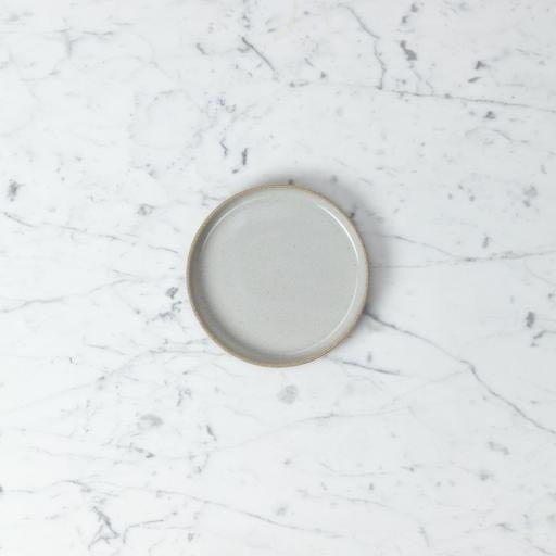 """PREORDER Hasami Porcelain Plate - Extra Small - Gloss Grey - 5 1/2"""" x 3/4"""""""
