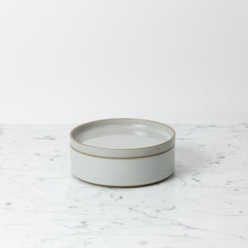 """PREORDER Hasami Porcelain Plate - Small - Gloss Grey - 7 1/4"""" x 3/4"""""""