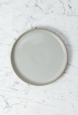 "Hasami Porcelain Plate - Medium - Gloss Grey - 8 1/2"" x 3/4"""