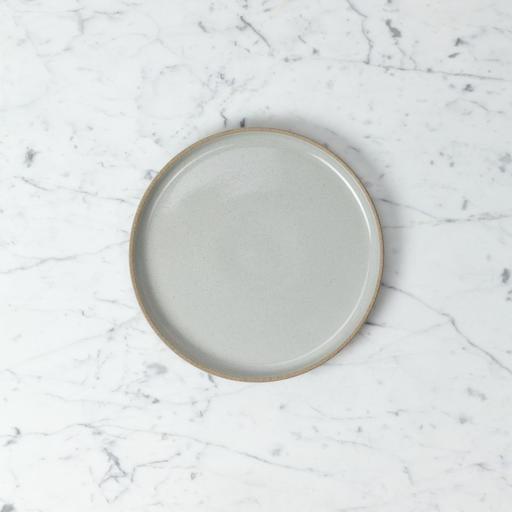 "PREORDER Hasami Porcelain Plate - Medium - Gloss Grey - 8 1/2"" x 3/4"""