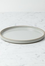 "Hasami Porcelain Plate - Large - Gloss Grey - 10"" x 3/4"""