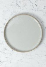 """PREORDER Hasami Porcelain Plate - Large - Gloss Grey - 10"""" x 3/4"""""""