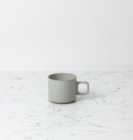 "Hasami Porcelain Mug - Small - Gloss Grey - 3 1/4"" x 2 3/4"""