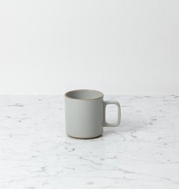 "PREORDER Hasami Porcelain Mug - Medium - Gloss Grey - 3 1/4"" x 3 1/2"""