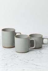 "PREORDER Hasami Porcelain Mug - Medium - Gloss Grey - 3 1/4"" x 3 1/2"""
