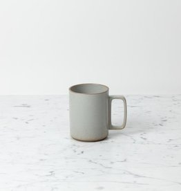 "Hasami Porcelain Mug - Large - Gloss Grey - 3 1/4"" x 4"""