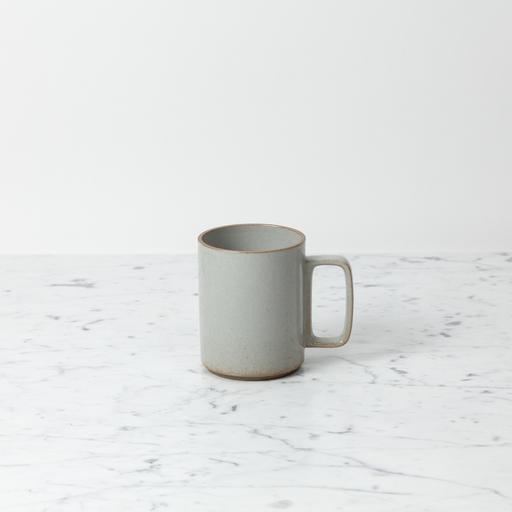 "PREORDER Hasami Porcelain Mug - Large - Gloss Grey - 3 1/4"" x 4"""