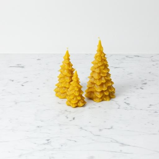 """Old Mill Candles Delicate Beeswax Pine Tree - Large - 6"""""""