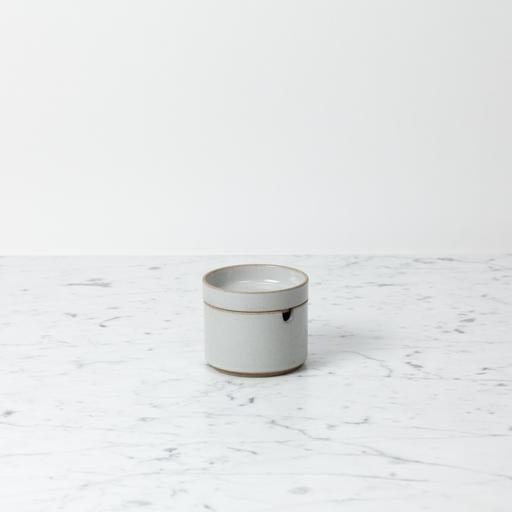 """Hasami Porcelain Sugar Bowl - Gloss Grey - 3 1/4"""" x 2"""""""