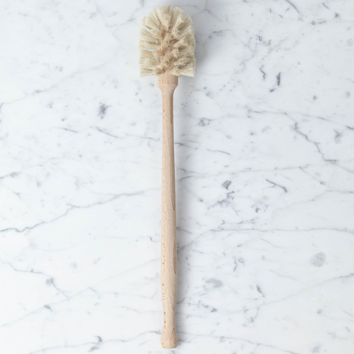 Long Handled Milk Bottle Brush - Natural - 13.75""