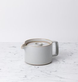 "Hasami Teapot - Gloss Grey - 40oz - 5 1/2"" x 4"""