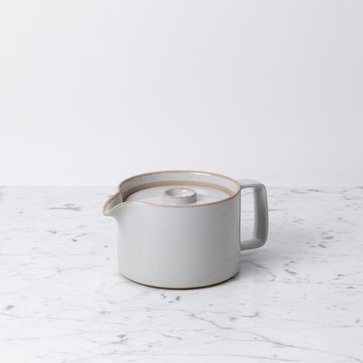 "PREORDER Hasami Teapot - Gloss Grey - 40oz - 5 1/2"" x 4"""