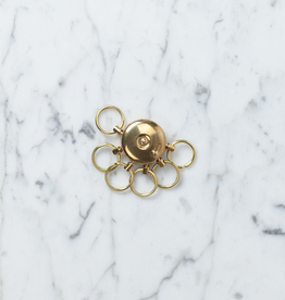 A&F Brass Octopus Key Holder