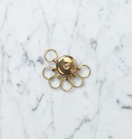 Saikai Toki A&F Brass Octopus Key Holder