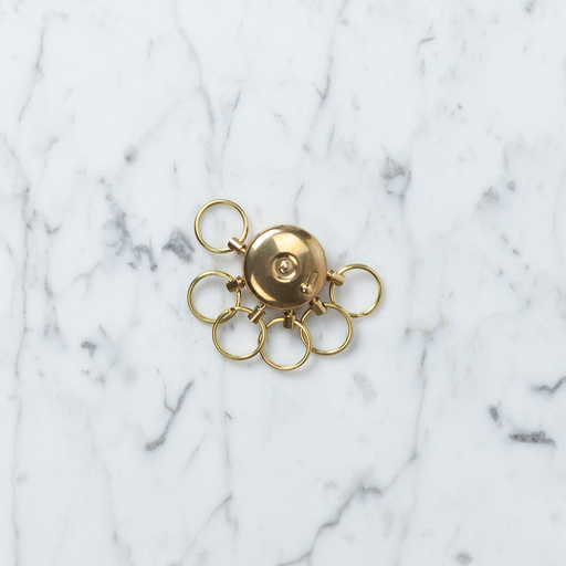 A&F Brass Octopus Key Holder