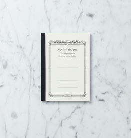 White Bound Notebook - Small - 6 in