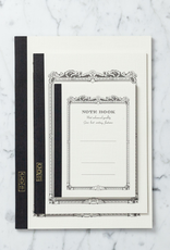 White Bound Notebook - Large - 10 in
