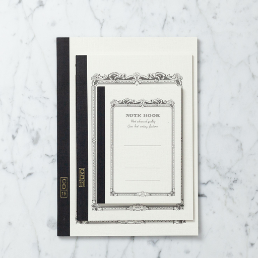 White Bound Notebook - Medium