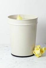 """Bunbuku Waste Basket - Large - Ivory - 13.5"""""""