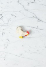 Ostheimer Toys Rooster White with Red Comb