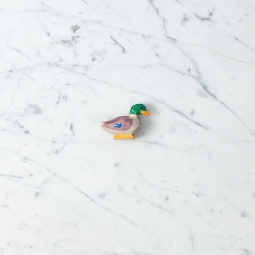 Ostheimer Toys Drake Duck with Little Purple Wings