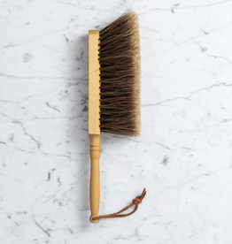 German Hand Broom - Beech and Split Horsehair