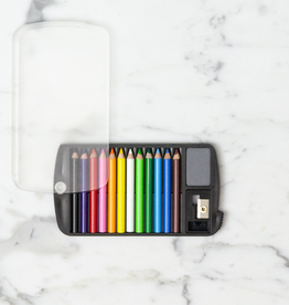 JPT America Mini Color Pencil Set with Sharpener