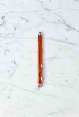 Needle Point Horizon Hexagonal Pen - Orange - 0.7Mm