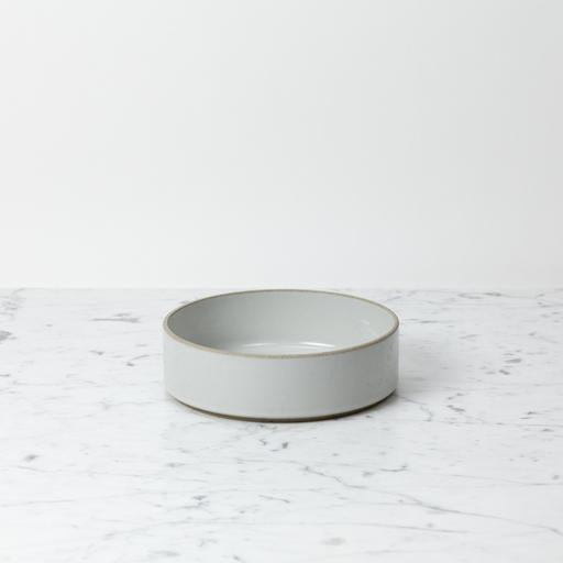 "PREORDER Hasami Porcelain Straight Bowl - Small - Gloss Grey - 7 1/4"" x 2"""