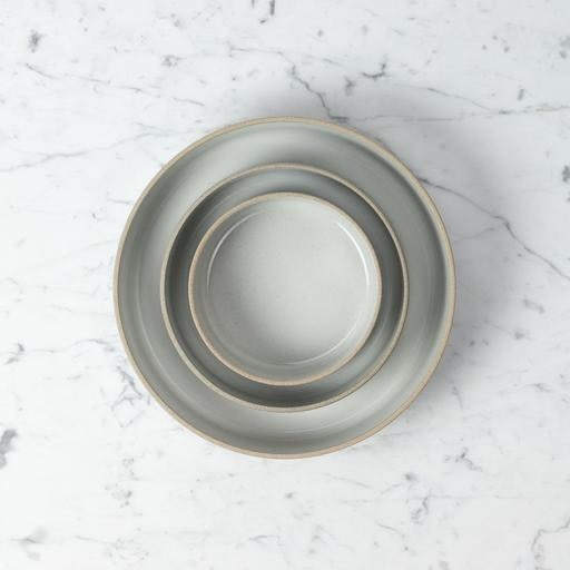 "Hasami Porcelain Straight Bowl - Small - Gloss Grey - 7 1/4"" x 2"""