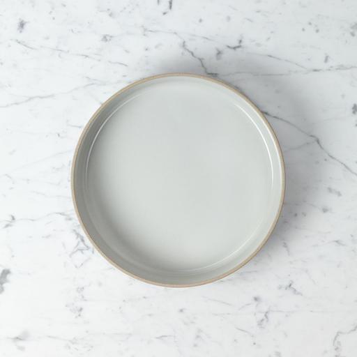 "PREORDER Hasami Porcelain Straight Bowl - Large - Gloss Grey - 10"" x 2"""