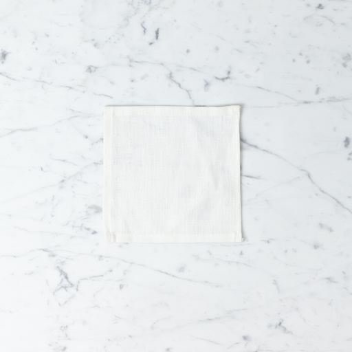 Lakeshore Linen Cocktail Napkin - White - 6 x 6 in.