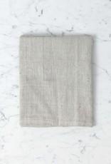 TENSIRA Handwoven Cotton Kitchen Towel - Pale Grey - 20 x 28 in