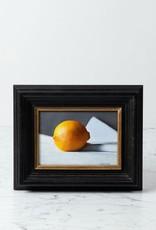 "Tony Brenny Lemon Painting - 5 x 7"" - Oil on Panel"