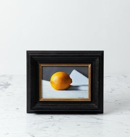 "Tony Brenny Lemon Painting - 5 x 7"" - Oil on Panel"