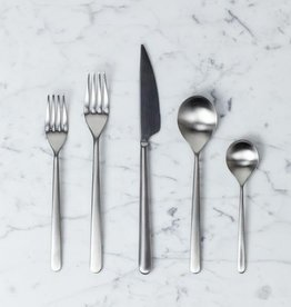 Italian Linea 5 Piece Place Setting - Ice