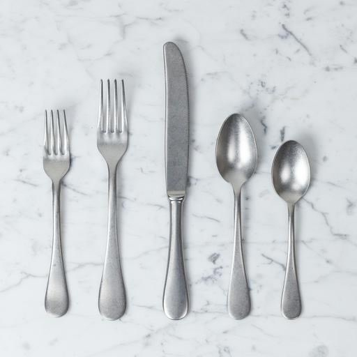 Italian Vintage Style 5 Piece Place Setting