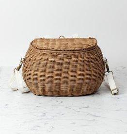"""Big Chari Basket - Natural - 13 x 7"""""""