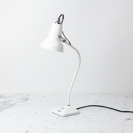 Anglepoise Original 1227 Mini Table Lamp - Ceramic White Shade