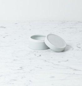 "Belgian Porcelain Storage Container - 1.75 x 3"""