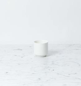 Zangra Belgian Porcelain Espresso Cup - White