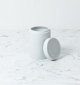 "Zangra Belgian Porcelain Storage Container - 4.25 x 3"""