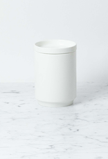 "Belgian Porcelain Medium Vase - White - 5"" x 4"""