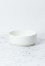 Belgian Porcelain Bowl - Medium - White - 6""