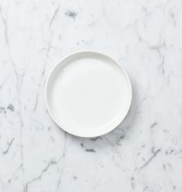"Zangra Belgian Porcelain Large Dish - White - 4 1/2"""