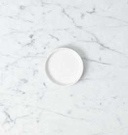 "Zangra Belgian Porcelain Small Dish - White - 3 1/2"""