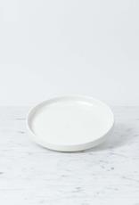 """Belgian Porcelain Side Plate - White - 6"""""""