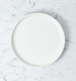 "Belgian Porcelain Salad Plate - White - 8 1/3"""